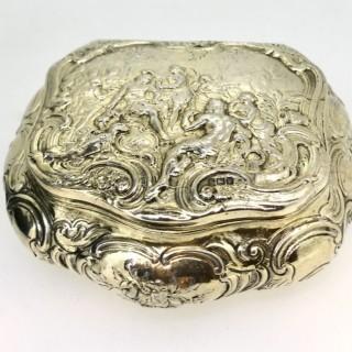 Large Silver Box