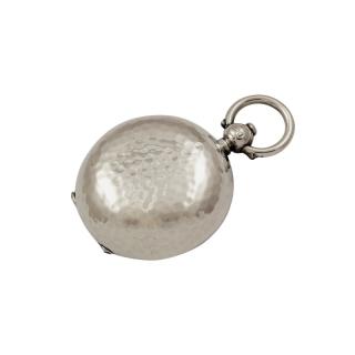 Antique Edwardian Sterling Silver Sovereign Case 1906