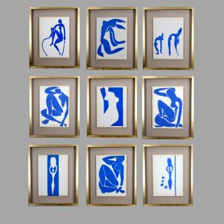 Henri Matisse. Colour Lithographs after the Cut-Outs, 1958.