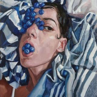 Blueberries by Valeria Duca