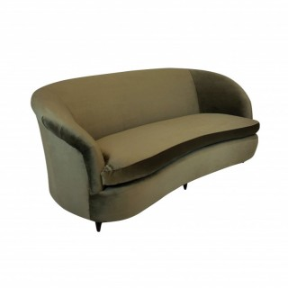 A LARGE MID CENTURY THREE SEAT SOFA BY PARISI