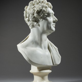 A Fine and Rare Portrait Bust of George IV