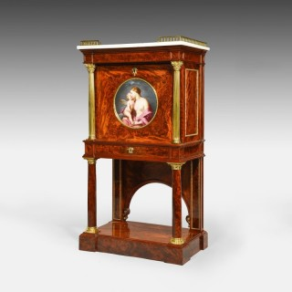 An Ormolu-Mounted Mahogany Secrétaire In the manner of S. Jamar