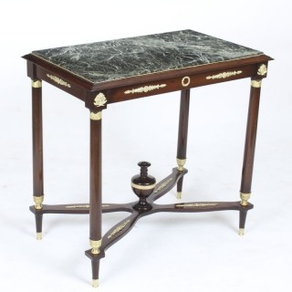 Antique Empire Revival Ormolu Mounted Gueridon Occasional Table 19th C