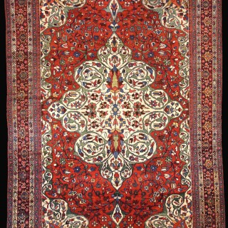 Persian Sarouk Mahal Carpet