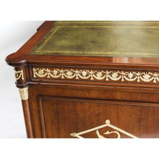 Antique Empire Revival French Ormolu Mounted Desk C1880 19th Century