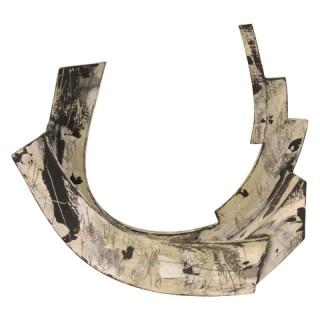 Abstract ceramic form, Rebecca Appleby, (British, 1979 - present)