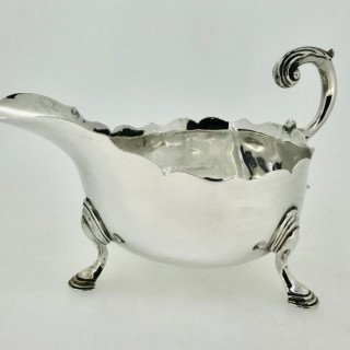Silver Sauceboat