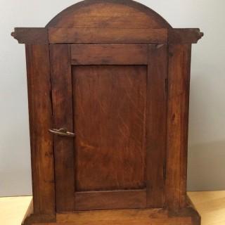Edwardian Oak Cased Mantel clock