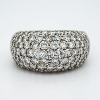 Tiffany bombe style ring