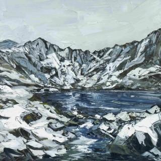 'Tranquility, Cwm Idwal' by Welsh artist Martin Llewellyn