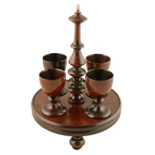 Georgian Treen Egg Cruet