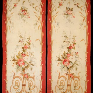 "Aubusson Tapestry Wall Panels "" Entre Fenetre """