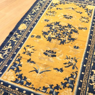 Chinese Carpet from the 'Ningxia 'district.