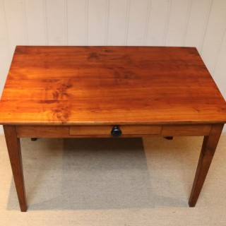 Small Proportioned French Provincial Cherry Wood Table