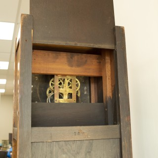 American Arts and Crafts Longcase Shelf clock