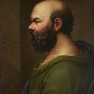 A Fine 18th Century Neoclassical Portrait of Socrates