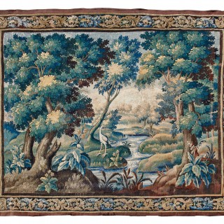 17th century Aubusson tapestry