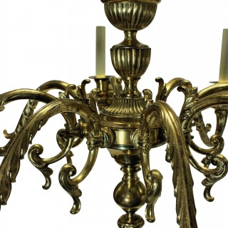 A LARGE PAIR OF CHARLES II STYLE CHANDELIERS