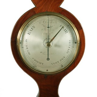 Georgian Barometer & Thermometer