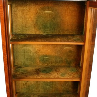 19th Century Dutch Satinwood Cabinet