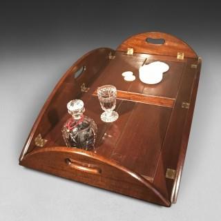 George III Mahogany Butler's Tray