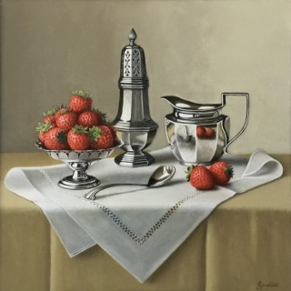 Strawberries and Silverware