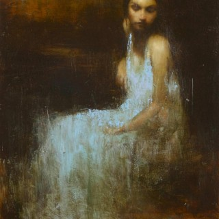 'Study for the Spring' by contemporary British artist Mark Demsteader