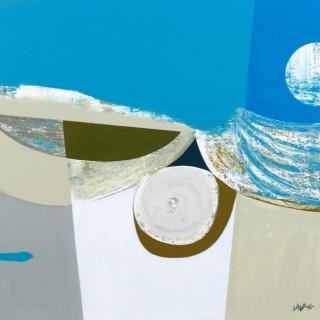 'Odyssey' origianl painting by Scottish artist Simon Laurie