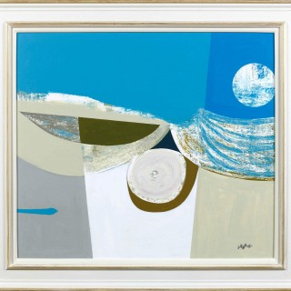 'Odyssey' origianl painting by Scottish artist Simon Laurie
