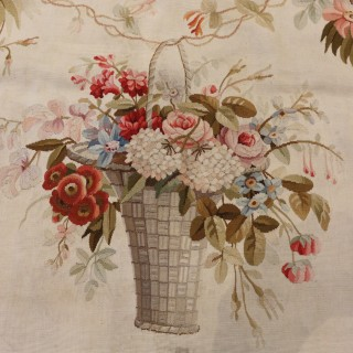 Aubusson Tapestry Wall Panel 'Entre Fenetre'