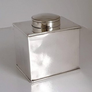 George III Silver Tea Cannister