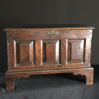 Welsh coffer Bach, C1730