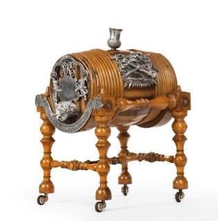 A Rare Scottish Regimental Whisky Barrel