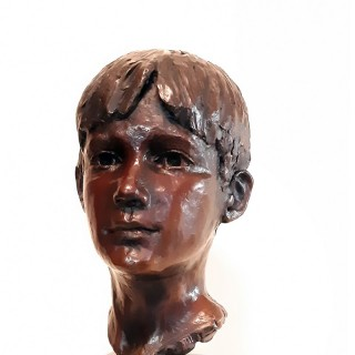 """Firsts DECEMBER"" Peter Pan Bust"