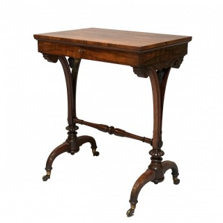 Antique George IV Rosewood Side Table