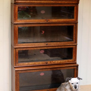 Oak Stacking Bookcase