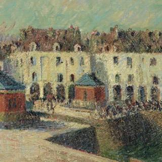 Gustave Loiseau - Dieppe, Le Quai de Carenage