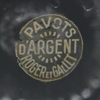 René Lalique Glass Pavots D'Argent Perfume Bottle