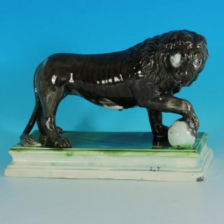 Ralph Wood Staffordshire Pearlware Medici Lion