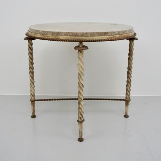 Marble Topped Circular Table