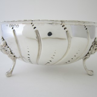 Antique Victorian Sterling silver bowl