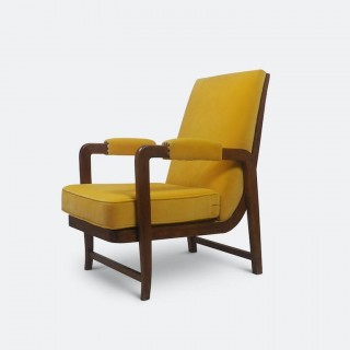 Pair of Scandinavian Modernist Lounge Chairs 1940s
