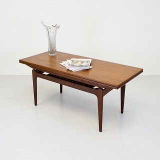 Metamorphic Teak Coffee Table