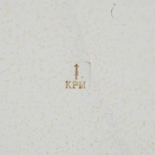 Orientalist porcelain plaque in the manner of KPM