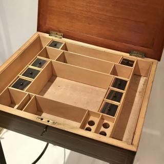 George III Specimen Wood Work Table