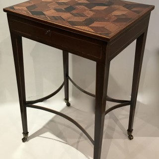 George III Specimen Wood Work Table