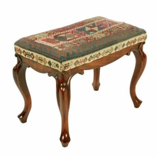 Early Victorian Mahogany Stool