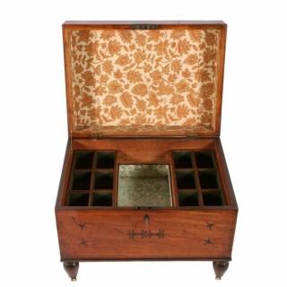 Regency Mahogany Cellaret Box