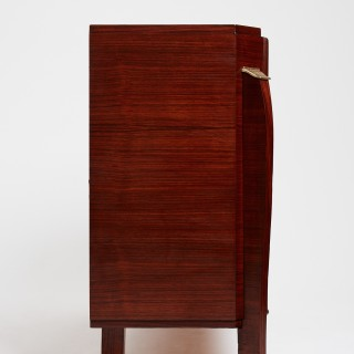 Art Deco Rosewood Sideboard by Jules Leleu